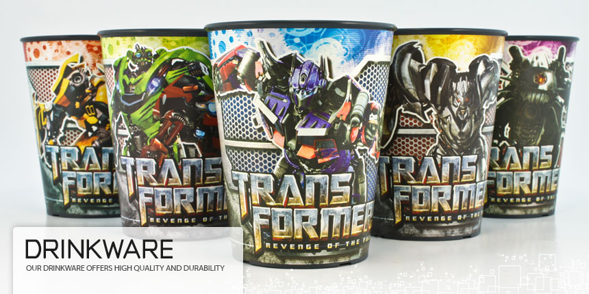 Virtual Images | Lenticular Drinkware