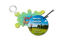 Virtual Images | Lenticular Golf Tag