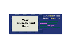 Virtual Images | Lenticular Business Card Holder