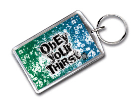 Virtual Images | Lenticular Keychain