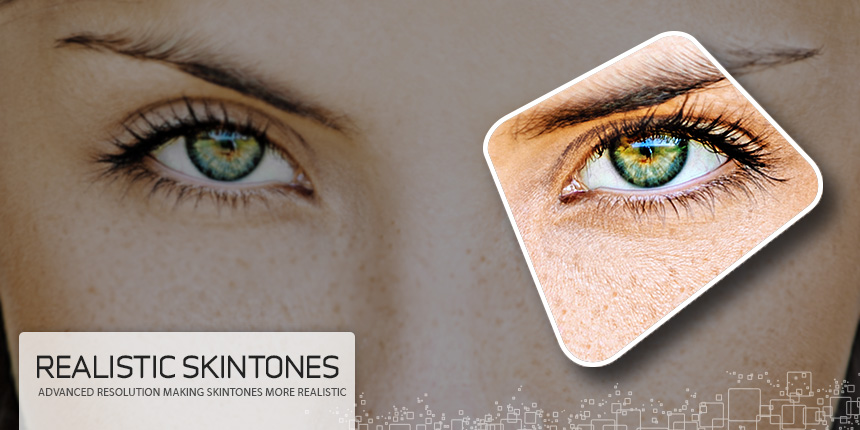 Virtual Images | Realistic Skintones with Lenticular